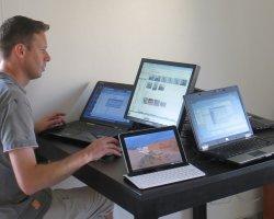 laptopy w firmie